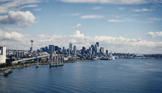 Chicago & Seattle stays with US Rockies Train & Alaska Cruise