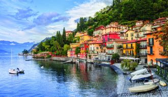 Lake Como & Venice stays with Mediterranean Cruise
