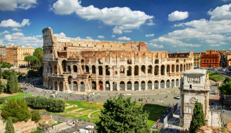 Rome & Venice stays with Mediterranean Cruise
