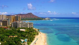 Vancouver & Waikiki Beach stays with Hawaii Cruise