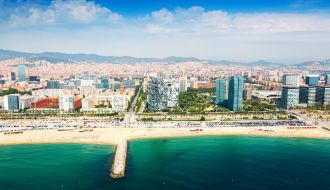 Barcelona Stay with Mediterranean Spain, Italy & France Cruise