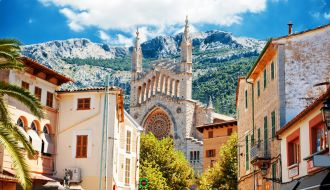 Majorca stay with  Spain, France & Italy Cruise