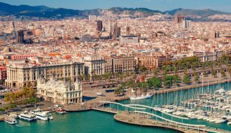 Barcelona stay with Spain, France & Italy Cruise